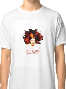 Doctor Who - Amelia Pond - The Girl Who Waited Classic T-Shirt