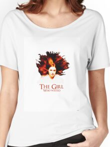 Doctor Who - Amelia Pond - The Girl Who Waited Women's Relaxed Fit T-Shirt