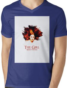 Doctor Who - Amelia Pond - The Girl Who Waited Mens V-Neck T-Shirt