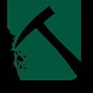 Black Geo logo by Daaxx