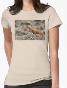 Weasel Womens Fitted T-Shirt