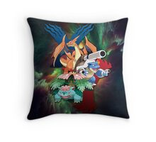 Megavolutionized XY Throw Pillow