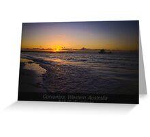 Postcard Paradise Greeting Card
