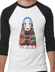 No Face Bathhouse2 Men's Baseball ¾ T-Shirt