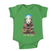 No Face Bathhouse2 One Piece - Short Sleeve