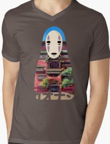 No Face Bathhouse2 Mens V-Neck T-Shirt