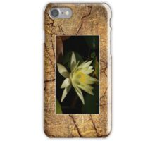 Yellow Water Lily Cellphone Case 13b iPhone Case/Skin