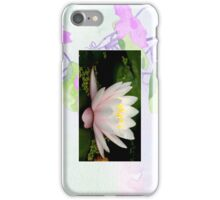 Pink Water Lily Cellphone Case 15b iPhone Case/Skin