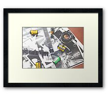 Rocking 35mm (print) Framed Print