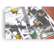 Rocking 35mm (print) Canvas Print