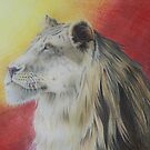 Majestic Lion  by RachaelSelk