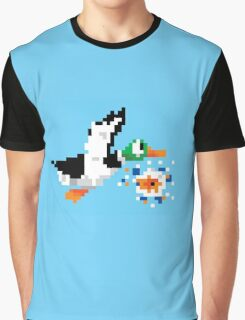 8-Bit Nintendo Duck Hunt 'Miss' Graphic T-Shirt