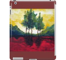 Five trees iPad Case/Skin