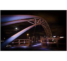 Arch Walk Way Photographic Print