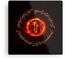 Sauron eye Metal Print