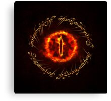 Sauron eye Canvas Print