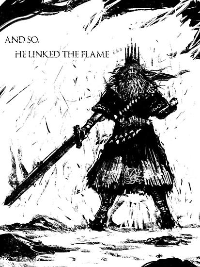 Gwyn, Lord of Cinder by Logetero
