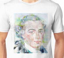 IMMANUEL KANT - watercolor portrait Unisex T-Shirt