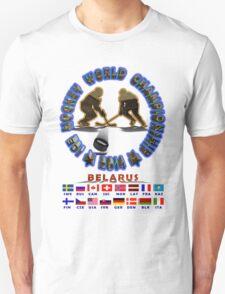 Hockey Championship BELARUS 2014 T-shirts and Stickers Unisex T-Shirt