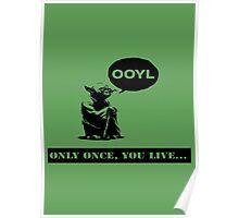 Yoda YOLO Poster