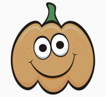 Happy cartoon pumpkin sticker by Mhea