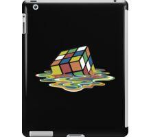 Melting Rubix Cube iPad Case/Skin