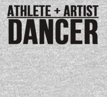 Athlete + Artist = Dancer by mralan