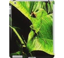 Green Reptilian  iPad Case/Skin