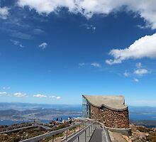 Mt Wellington, Hobart  (Christmas Day 2013)   by gaylene