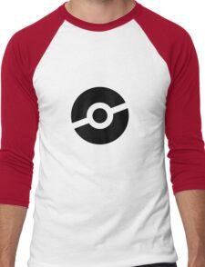 Pokeball Symbol Men's Baseball ¾ T-Shirt