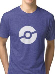 Pokeball Symbol Tri-blend T-Shirt