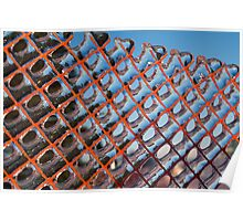 Geometrical Ice Patterns Poster