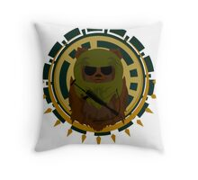 Ewok of War Throw Pillow