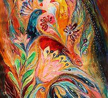 The light of Menorah by Elena Kotliarker