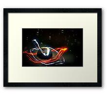Voltaic Dew Framed Print