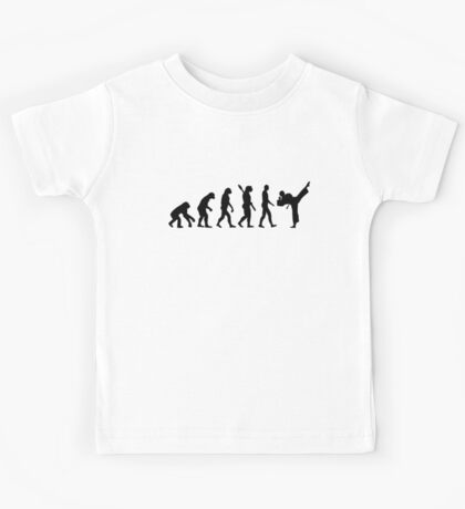 Evolution Karate kickboxing Kids Tee