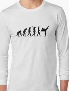 Evolution Karate kickboxing Long Sleeve T-Shirt