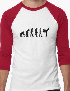 Evolution Karate kickboxing Men's Baseball ¾ T-Shirt