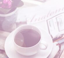 Dreamy Mornings Sticker