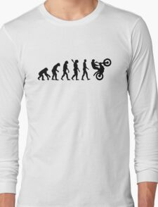 Evolution Motocross racing Long Sleeve T-Shirt