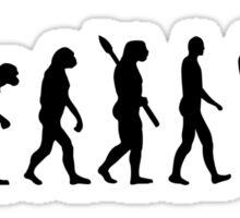 Evolution Motocross racing Sticker