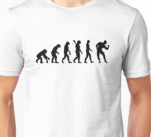 Evolution Bodybuilding muscles Unisex T-Shirt