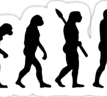 Paintball evolution Sticker