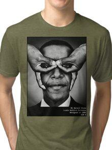 Barack Obama - Hype Means Nothing Tri-blend T-Shirt