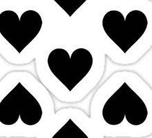 Thirteen of Hearts Sticker