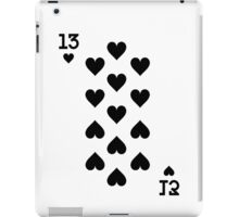 Thirteen of Hearts iPad Case/Skin