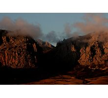 Three sisters during sunset Photographic Print