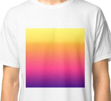 Girly Summer Tropical Gradient Abstract Sunset Classic T-Shirt