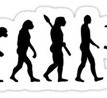 Evolution Ski Freestyle Sticker