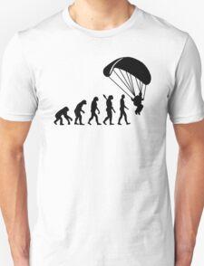 Evolution Skydiving Parachute jumping T-Shirt